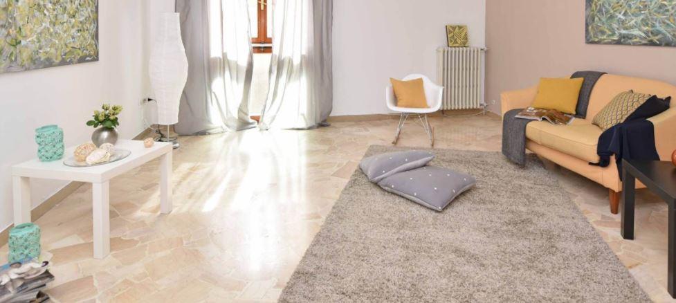 Czysty dywan w salonie